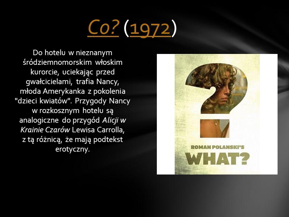 Prywatny detektyw Jake Gittes zostaje wynajęty przez kobietę podającą się za panią Mulwray, by śledził jej męża.