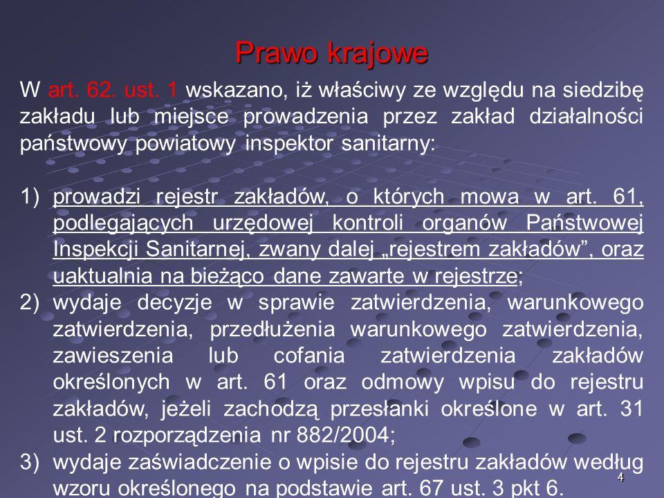 4 Prawo krajowe W art. 62. ust.
