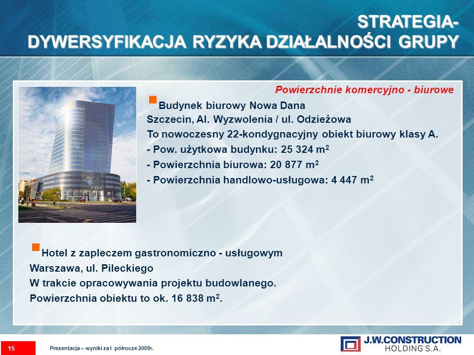 Budynek biurowy Nowa Dana Szczecin, Al.Wyzwolenia / ul.