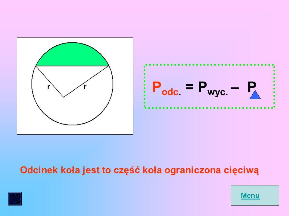 r P wyc.= a 360 0.