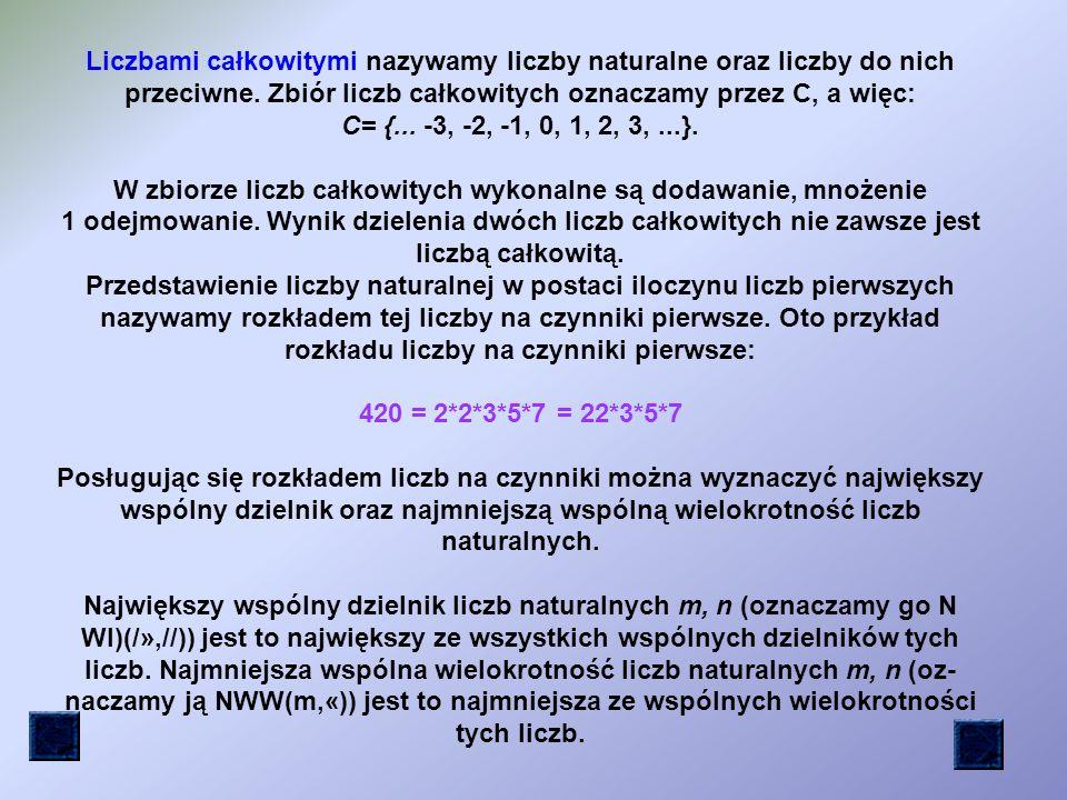 Liczbami naturalnymi nazywamy liczby 0,1,2,3,..., 127,...