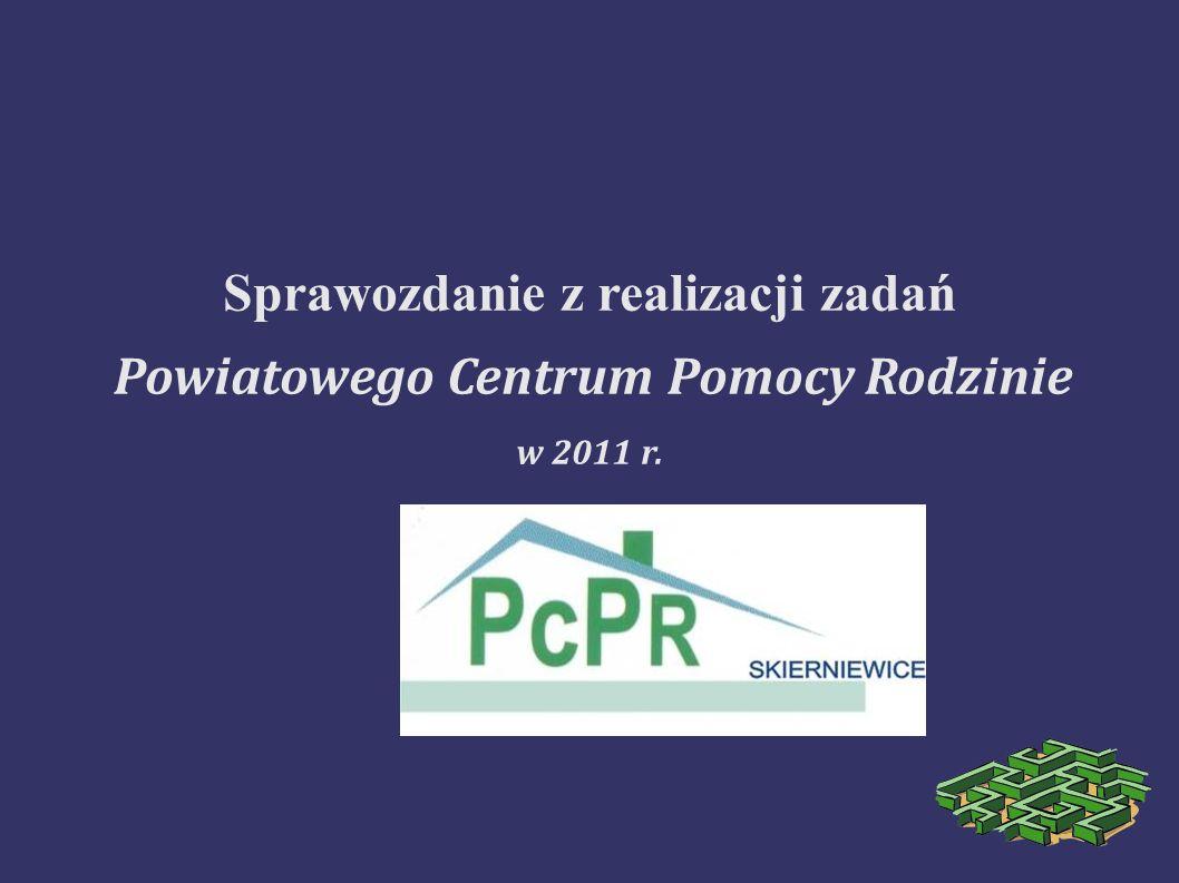 Powiatowe Centrum Pomocy Rodzinie jest jednostką organizacyjną Powiatu.