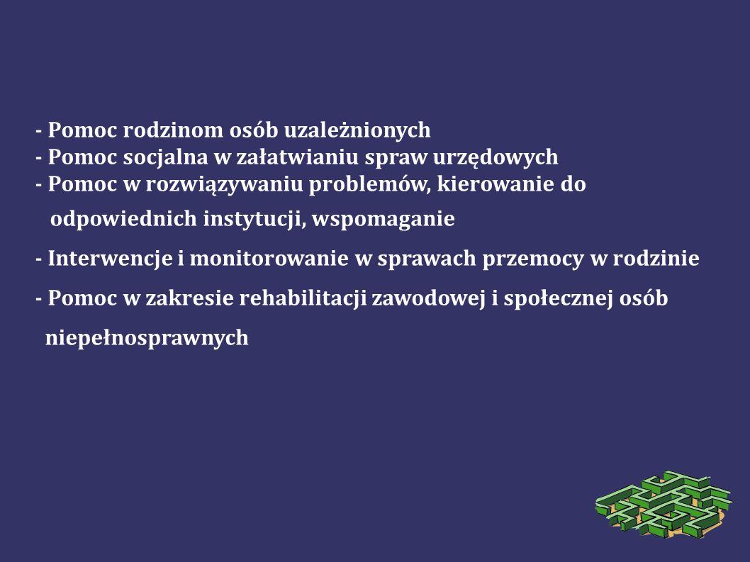 W ramach konkursu wsparciem były objęte następujące zadania: wielospecjalistyczna rehabilitacja dzieci i młodzieży niepełnosprawnej.