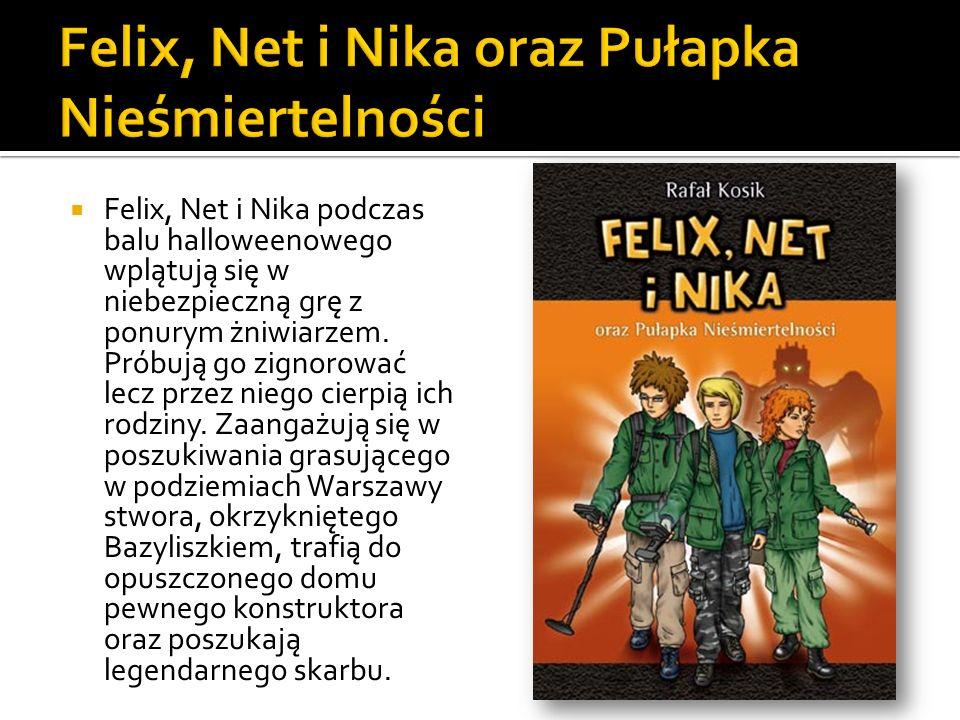 Felix, Net i Nika podczas balu halloweenowego wplątują się w niebezpieczną grę z ponurym żniwiarzem. Próbują go zignorować lecz przez niego cierpią ic