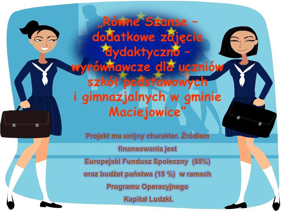 Zajęcia w ramach projektu Prowadzony przedmiot Nauczyciel prowadzący ZapisanychW tym Chł.Dz.