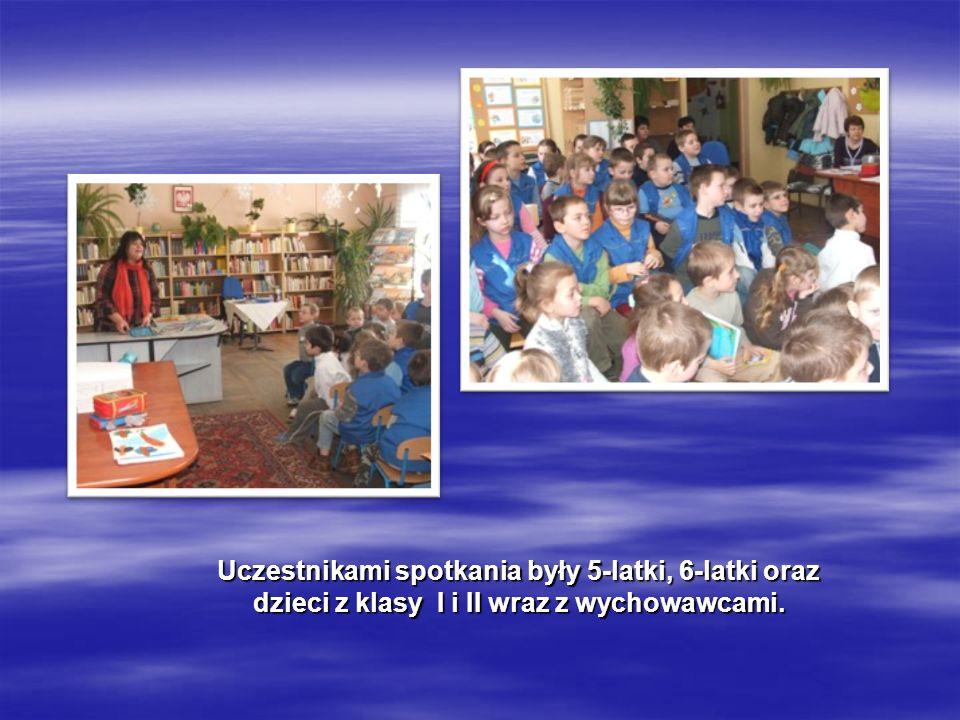 Uczestnikami spotkania były 5-latki, 6-latki oraz dzieci z klasy I i II wraz z wychowawcami.
