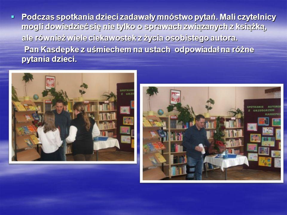 Tak zostało zapisane Tak zostało zapisane w kronice przez w kronice przez panią Joannę Olech panią Joannę Olech na zakończenie spotkania.