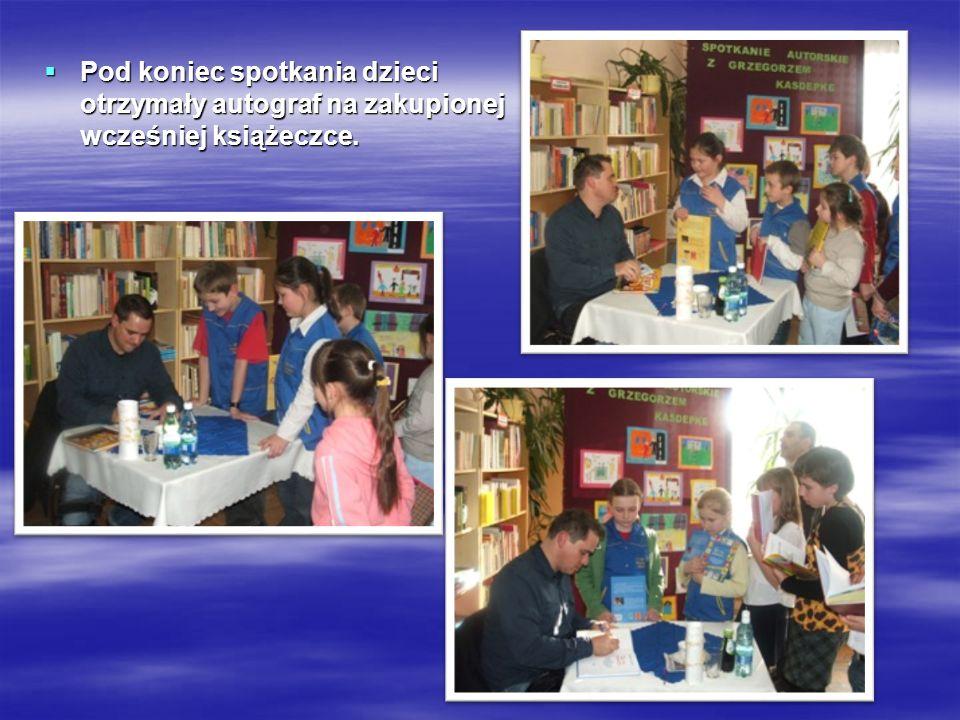 Spotkanie z panią Jolantą Reisch- Klose 16 16 marca 2010 r.
