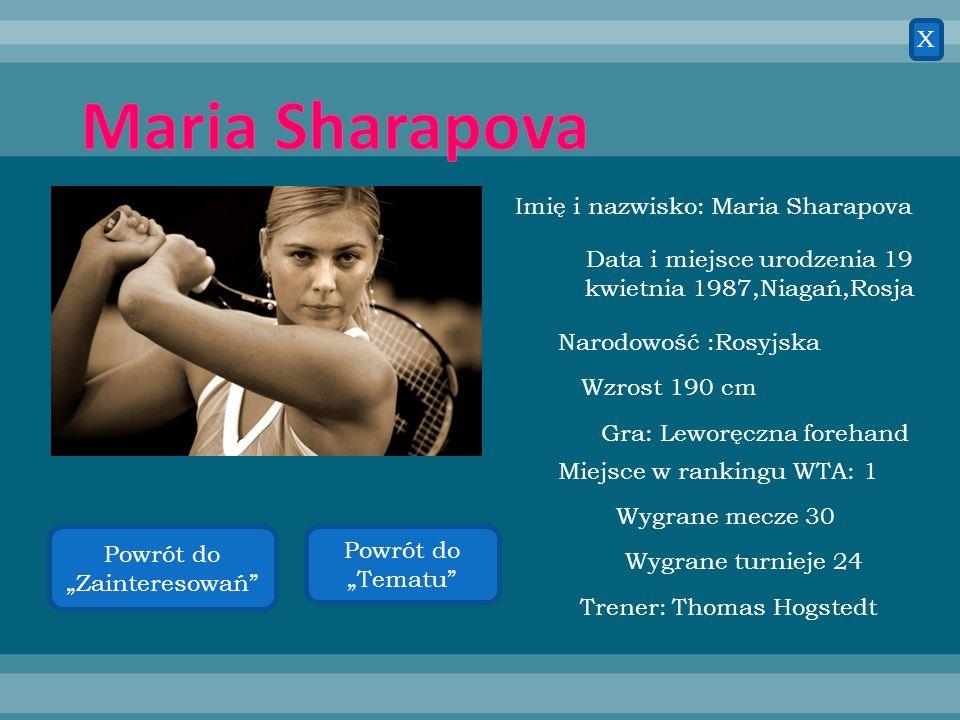 Novak Djokovic Imię i nazwisko: Novak Djokovic Data i miejsce urodzenia: 22 maja 1987 Belgrad, Serbia Narodowość: Serbska Wzrost: 188 cm Gra: praworęc