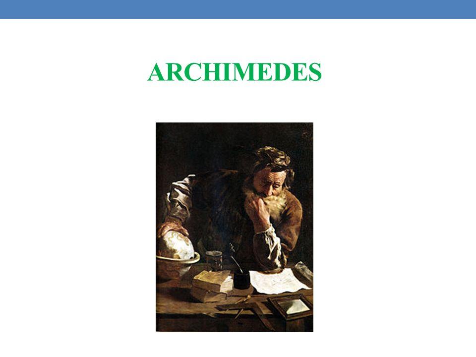 Archimedes z Syrakuz ( ur ok.