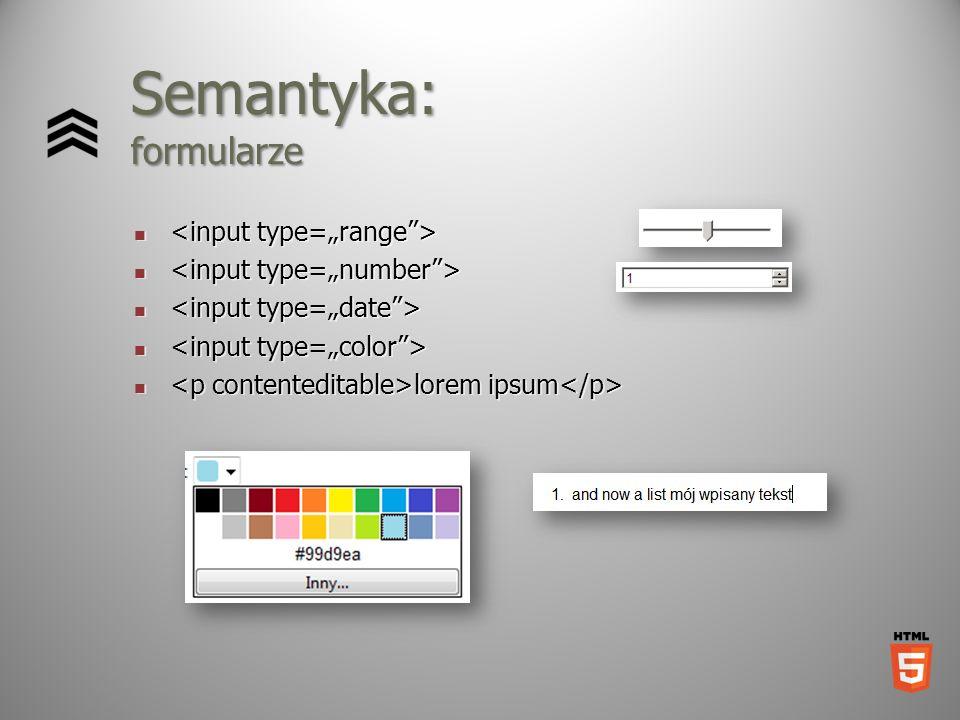 Semantyka: formularze lorem ipsum lorem ipsum
