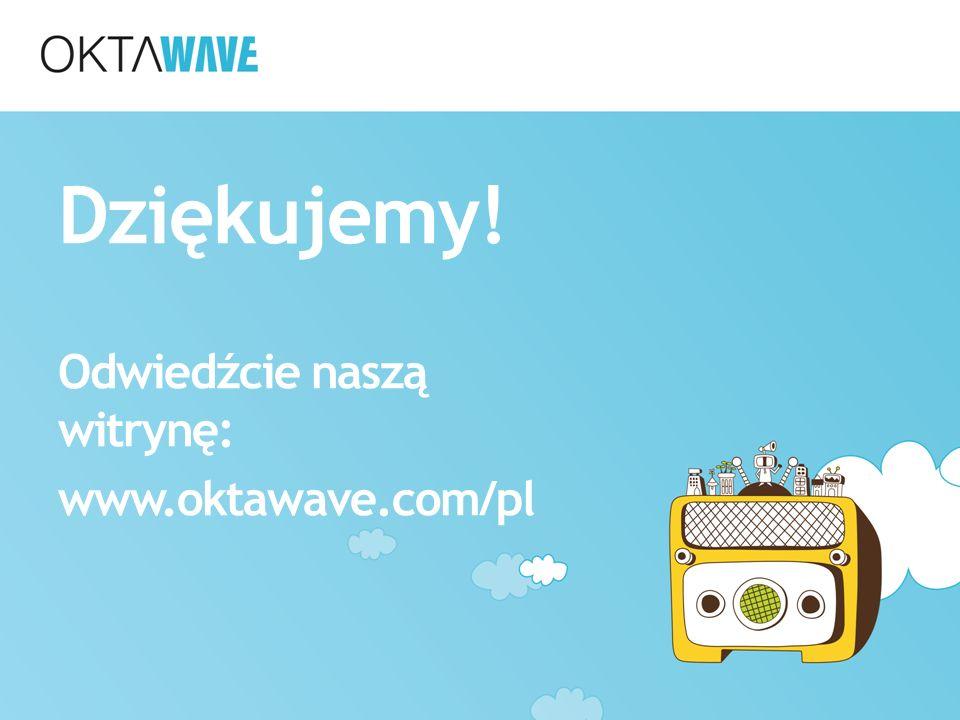 Dziękujemy! Odwiedźcie naszą witrynę: www.oktawave.com/pl