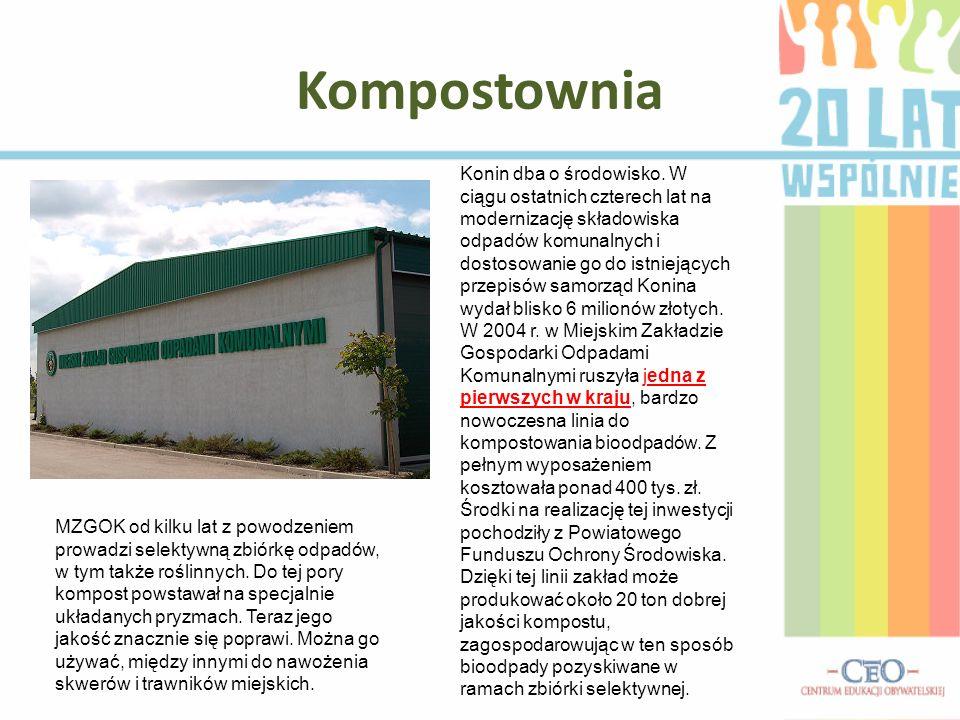 Kompostownia Konin dba o środowisko.
