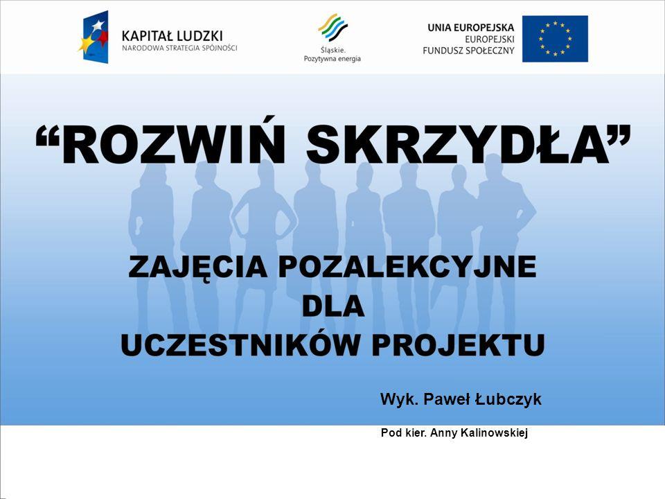 Wykonał Paweł Łubczyk Wyk. Paweł Łubczyk Pod kier. Anny Kalinowskiej