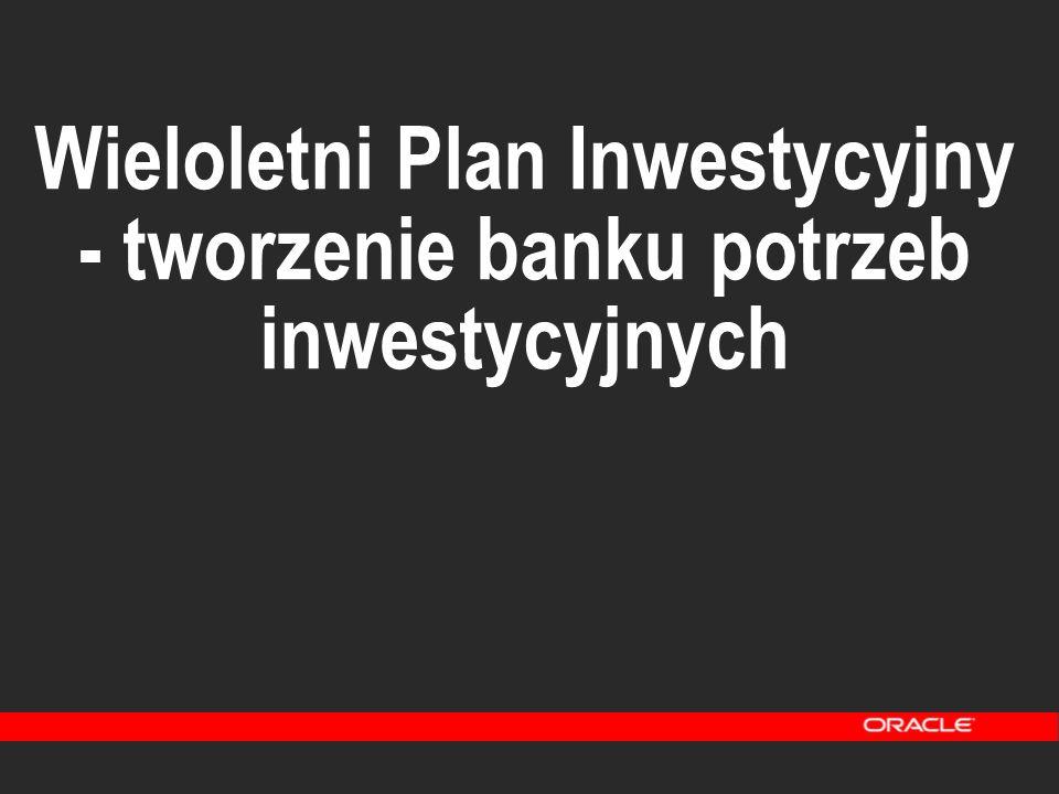 Wieloletni Plan Inwestycyjny - tworzenie banku potrzeb inwestycyjnych