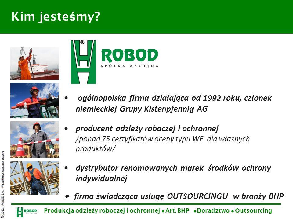 ogólnopolska firma działająca od 1992 roku, członek niemieckiej Grupy Kistenpfennig AG producent odzieży roboczej i ochronnej /ponad 75 certyfikatów o