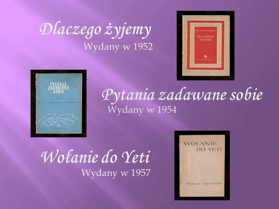Wydany w 1952 Wydany w 1954 Wydany w 1957