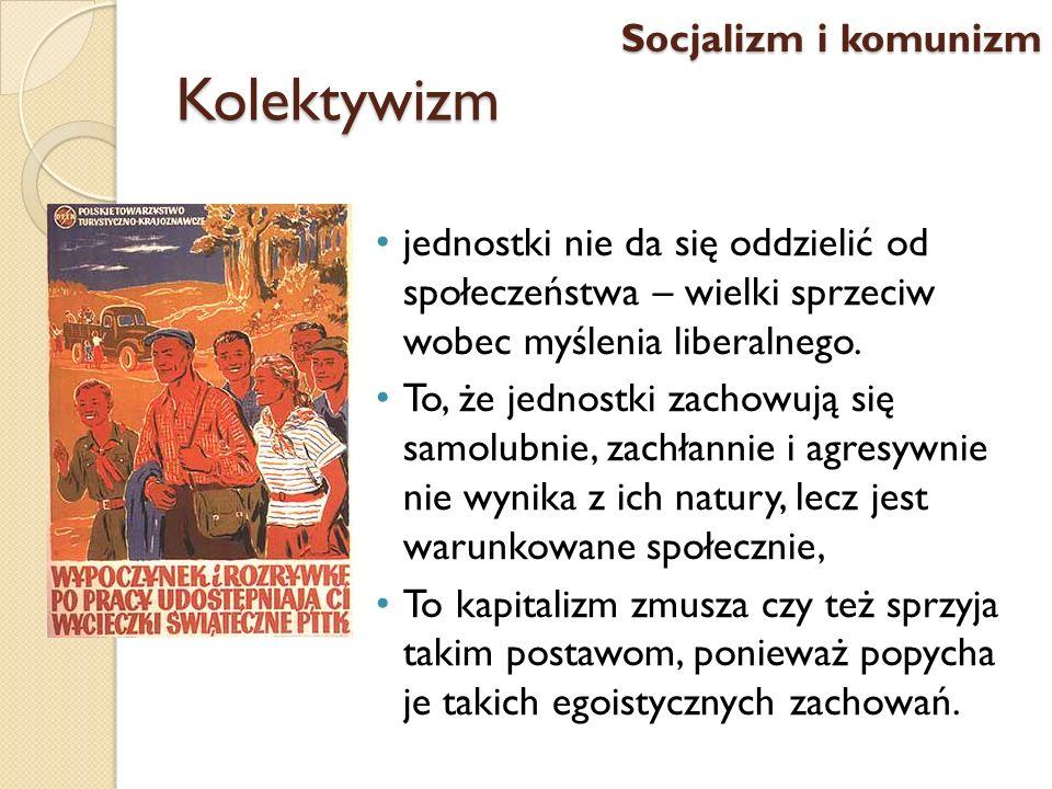 Kolektywizm jednostki nie da się oddzielić od społeczeństwa – wielki sprzeciw wobec myślenia liberalnego. To, że jednostki zachowują się samolubnie, z