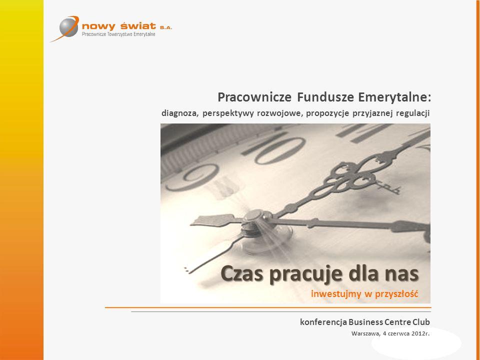 www.prte.pl konferencja Business Centre Club Warszawa, 4 czerwca 2012r. Pracownicze Fundusze Emerytalne: diagnoza, perspektywy rozwojowe, propozycje p