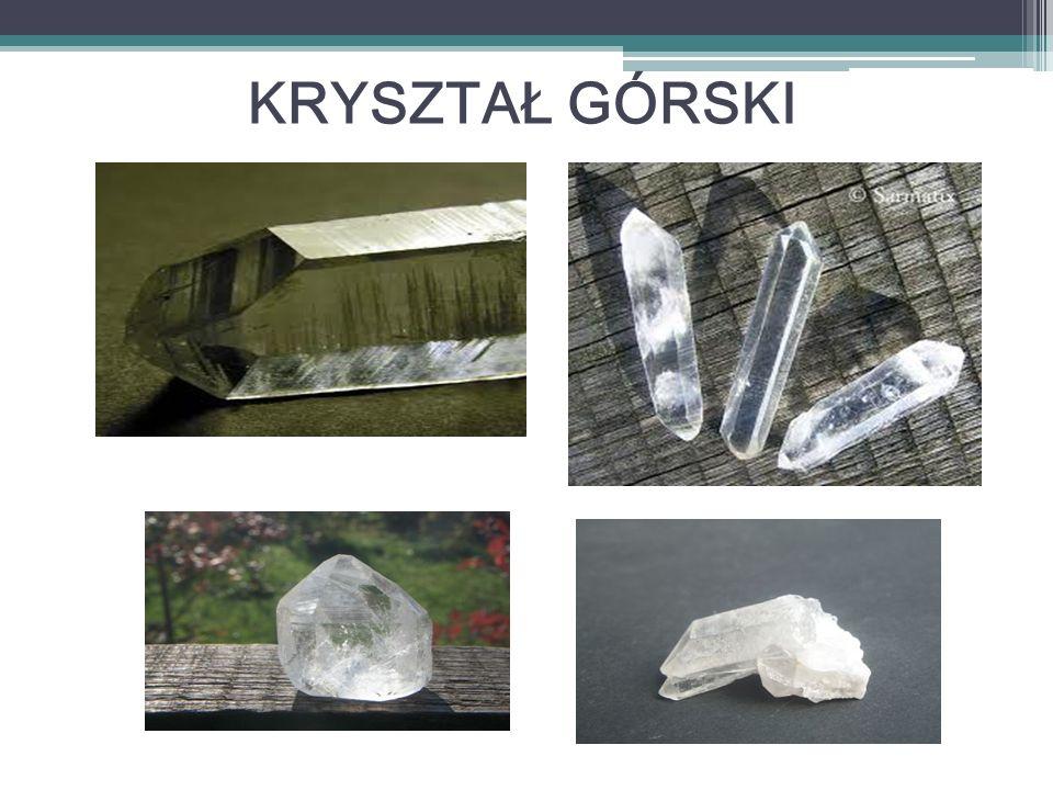 Grupa: kamień szlachetny z grupy kwarcu Barwa: biała lub bezbarwny, przezroczysty, często zmętniały Wzór chemiczny: SiO 2 (dwutlenek krzemu) Połysk: szklisty, żywiczny Układ krystalograficzny: trygonalny Twardość w skali Mohsa: 7 Gęstość: 2,65 g/cm³ Łupliwość: brak Przełam: muszlowy, bardzo kruchy