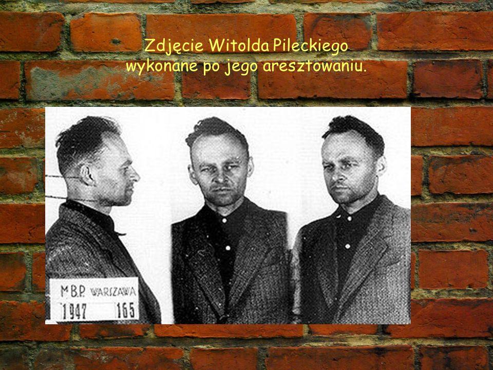 Zdjęcie Witolda Pileckiego wykonane po jego aresztowaniu.
