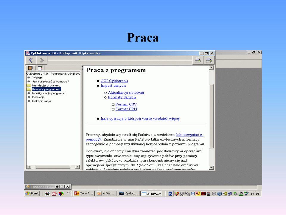 Przykłady : WIG 20, 06.01.2004
