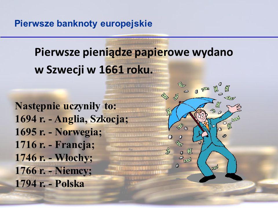 Pieniądze w Polsce Za panowania Mieszka I zaczęto bić, czyli wytwarzać monety, 1000 lat temu.