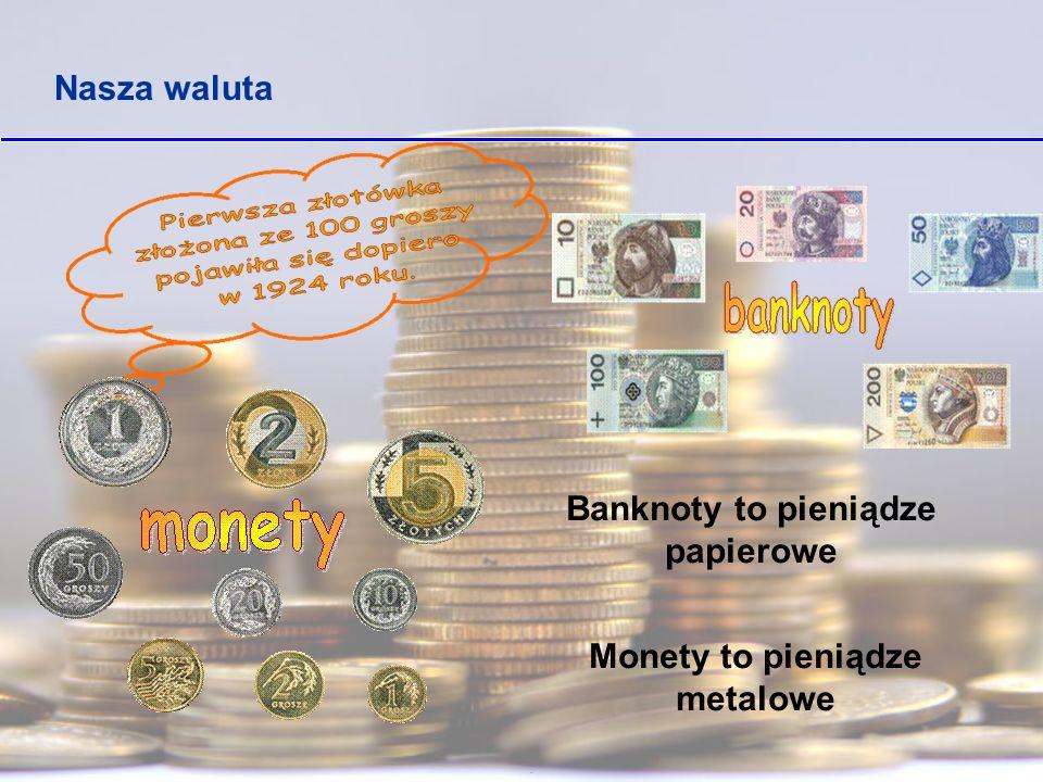 AWERS - przednia strona monety zwana główną, przeciwieństwo rewersu Budowa monety REWERS - odwrotna strona monety,