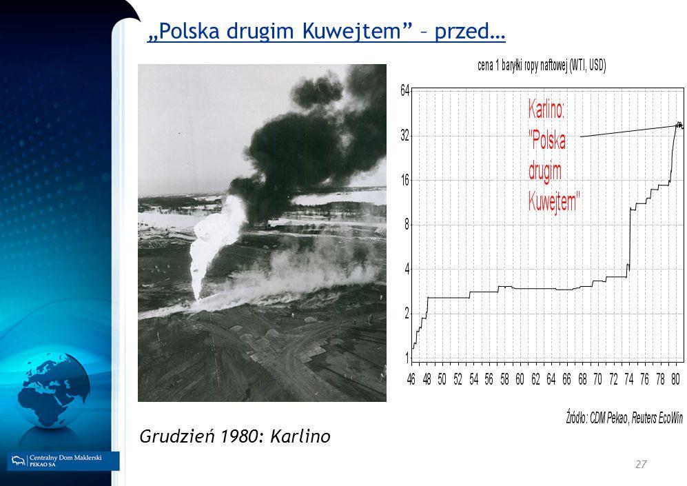 27 Polska drugim Kuwejtem – przed… Grudzień 1980: Karlino