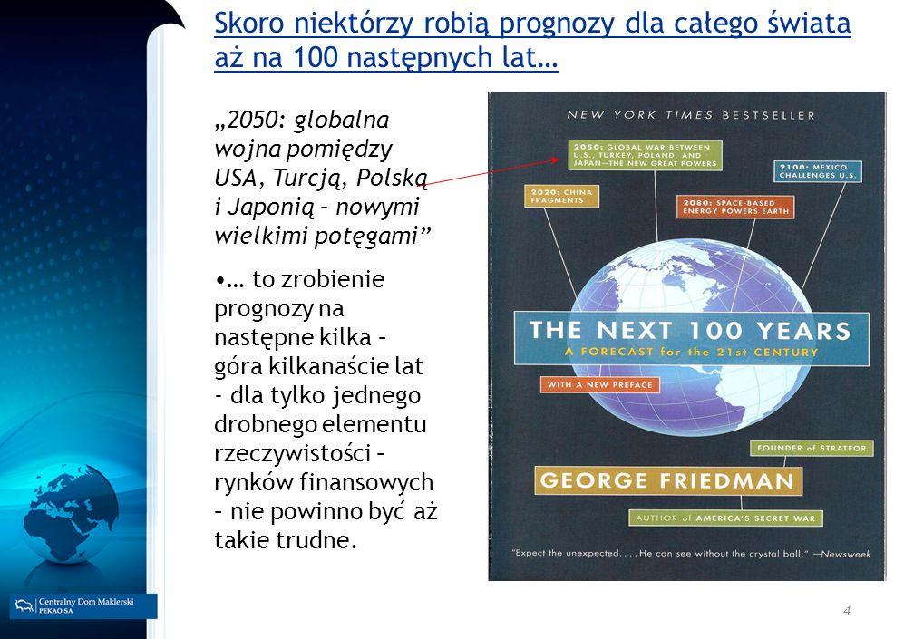 4 2050: globalna wojna pomiędzy USA, Turcją, Polską i Japonią – nowymi wielkimi potęgami … to zrobienie prognozy na następne kilka – góra kilkanaście