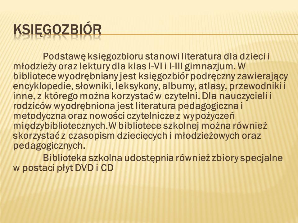 KLASY I – III KLASY IV –VI H.Ch.Andersen: Baśnie (wybór) Władysław Bełza: Kto ty jesteś.