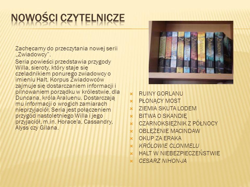W roku szkolnym 2011/12 działało prężnie Koło biblioteczne.