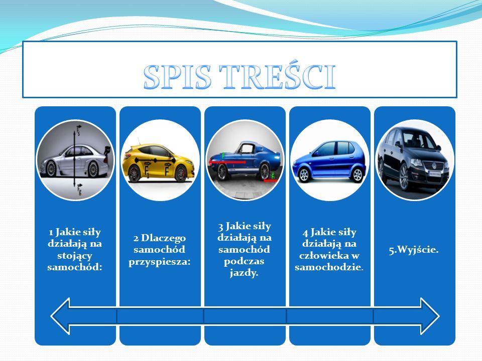 1 Jakie siły działają na stojący samochód: 2 Dlaczego samochód przyspiesza: 3 Jakie siły działają na samochód podczas jazdy. 4 Jakie siły działają na