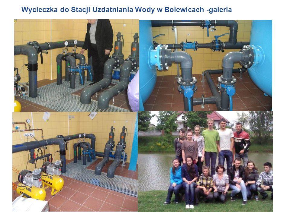 Wycieczka do Stacji Uzdatniania Wody w Bolewicach -galeria