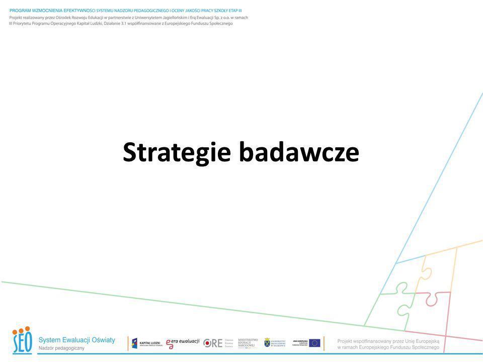 Strategie badawcze