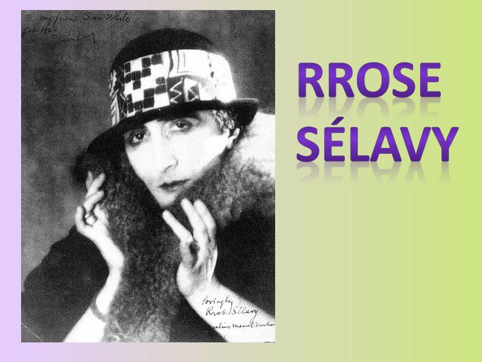 Był też autorem dwuznacznej postaci Rrose Sélavy, istoty, która po raz pierwszy pojawiła się w Fre(n)sh Wi(n)dow, czyli oknie na sposób francuski, przy czym bawił się tu angielskim znaczeniem fresh widow (świeża wdowa).