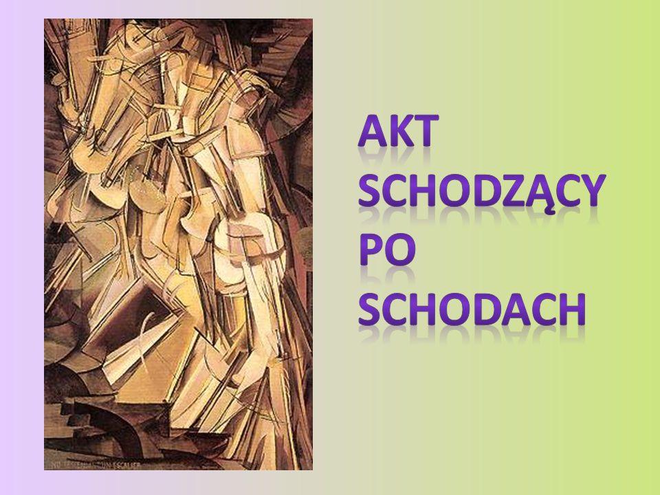 Repertuar kubistycznych środków wzbogacał o zagadnienia prezentacji ruchu na obrazie, jak w Ivonne i Madelaine rozerwane na strzępy, 1911 i Akt schodzący po schodach nr 2 ( Nu descendant un escalier No.