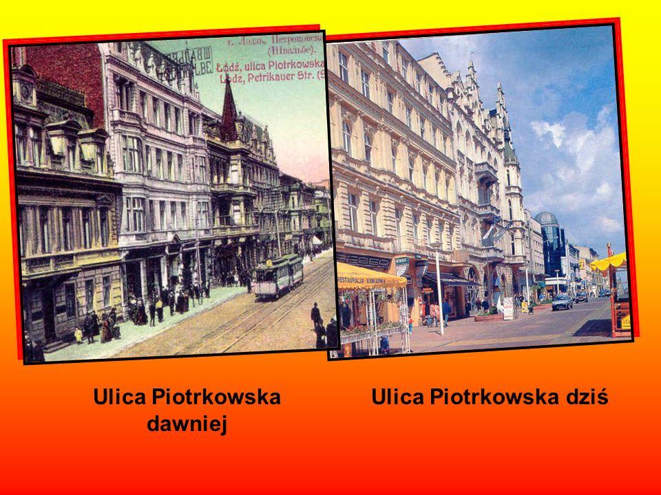 Dawniej – Ulica Spacerowa Dziś – Aleja Kościuszki