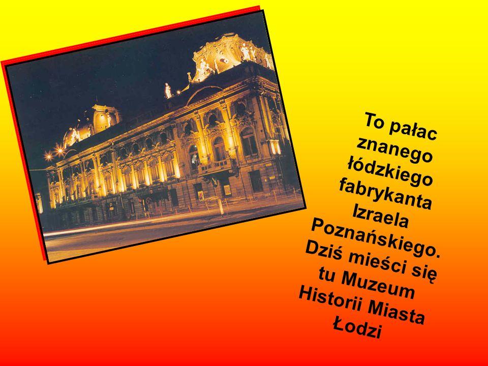 Ulica Piotrkowska to najważniejsza ulica w naszym mieście. Tu znajduje się wiele urzędów, restauracji i eleganckich sklepów