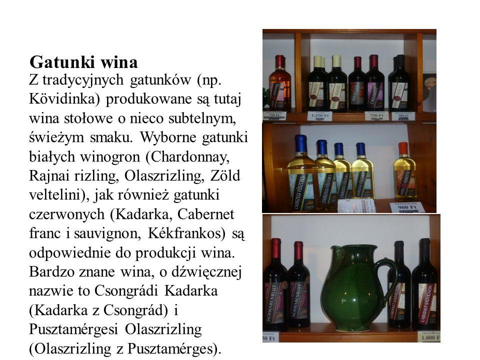 Gatunki wina Z tradycyjnych gatunków (np.