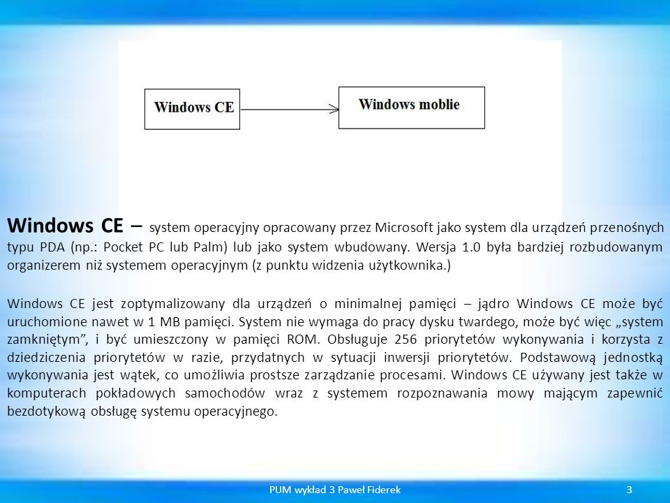 Tab 34PUM wykład 3 Paweł Fiderek private void MyTabs() { this.tabControl1 = new TabControl(); // Invokes the TabPage() constructor to create the tabPage1.
