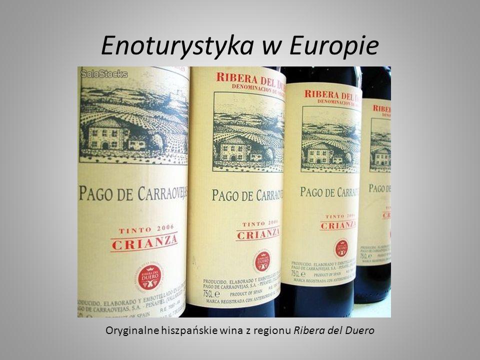 Enoturystyka w Europie Oryginalne hiszpańskie wina z regionu Ribera del Duero