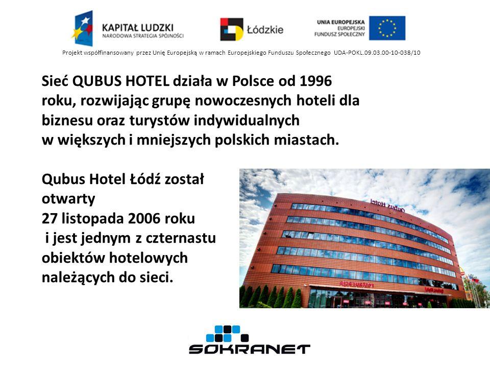 Sieć QUBUS HOTEL działa w Polsce od 1996 roku, rozwijając grupę nowoczesnych hoteli dla biznesu oraz turystów indywidualnych w większych i mniejszych polskich miastach.