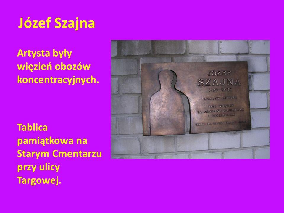 Przejście 2000 Dziś na placu Cichociemnych mękę Żydów upamiętnia pięciometrowa rzeźba wykonana przez Józefa Szajnę.