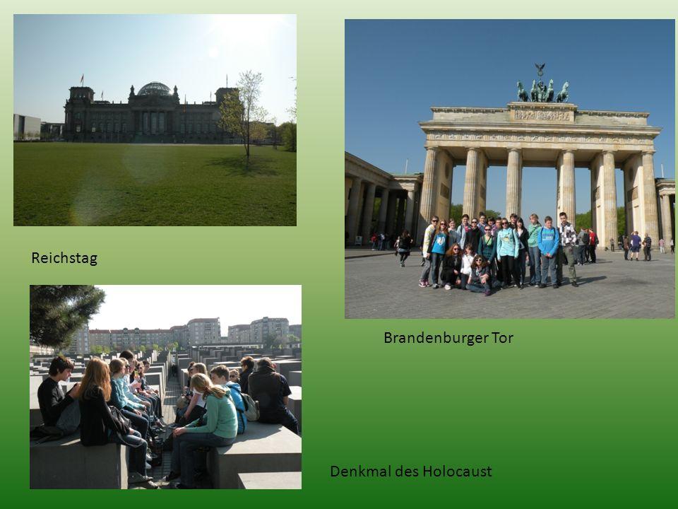 Reichstag Brandenburger Tor Denkmal des Holocaust