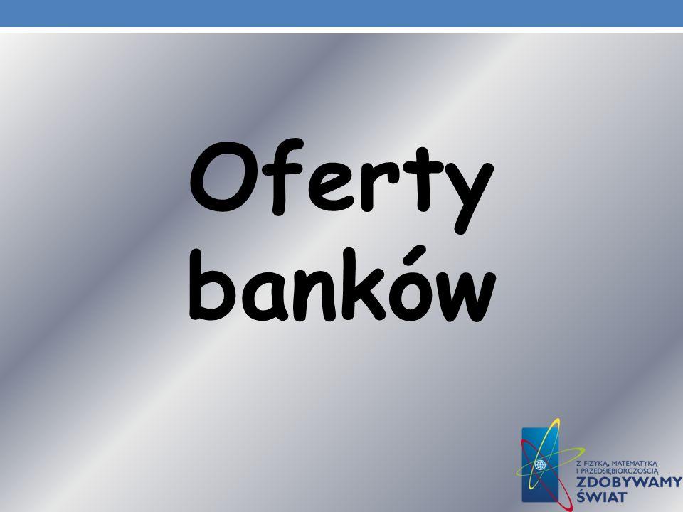 Oferty banków
