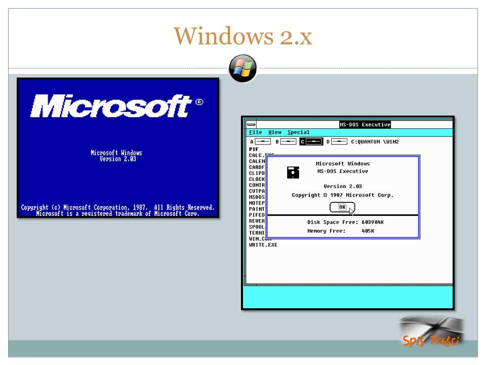 Windows 2.x