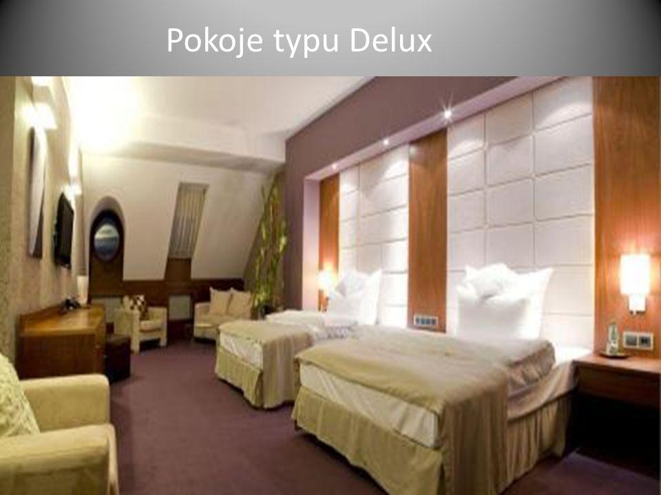Pokoje typu Delux
