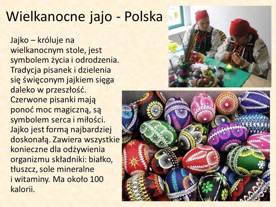 Wielkanocne jajo - Polska Jajko – króluje na wielkanocnym stole, jest symbolem życia i odrodzenia.