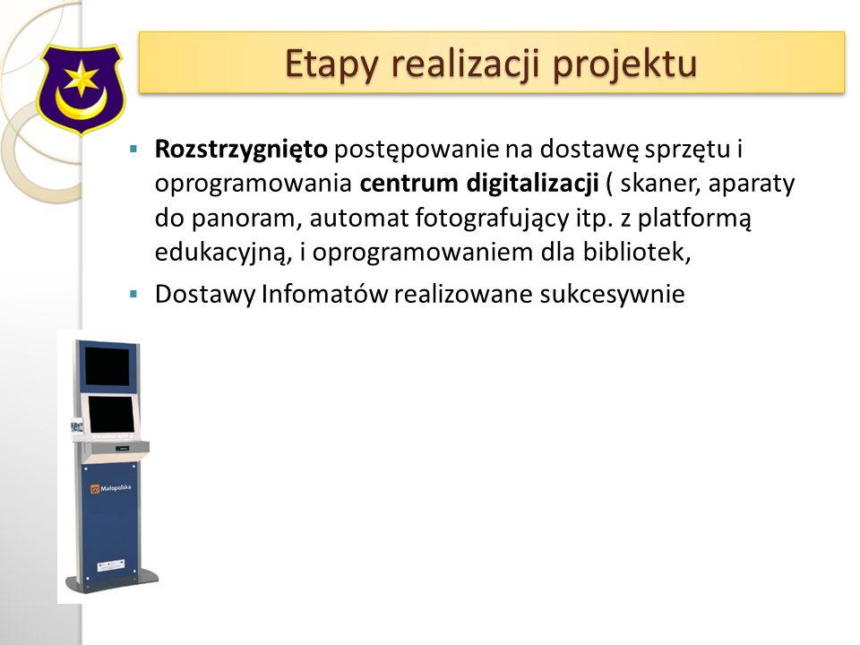 Rozstrzygnięto postępowanie na dostawę sprzętu i oprogramowania centrum digitalizacji ( skaner, aparaty do panoram, automat fotografujący itp.